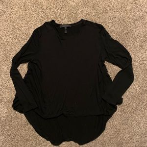 BCBGMAXAZARIA black long sleeve top ✨